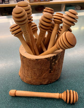 Birch Honey Dipper