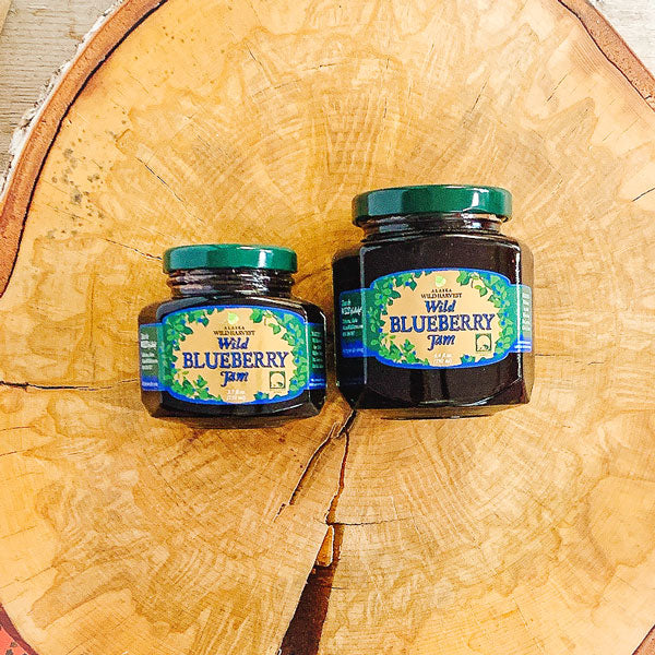 Alaskan Blueberry and Salmonberry Jams