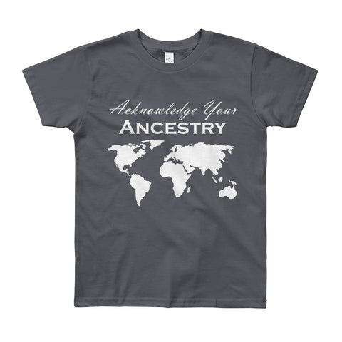 Acknowledge Your Ancestry: 8yrs - 12yrs - Acknowledge Your Ancestry
