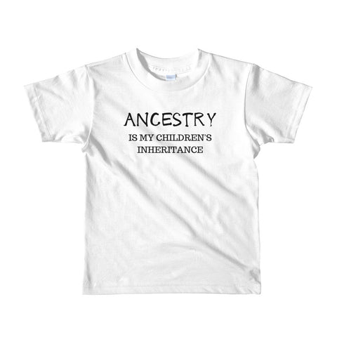 Inheritance: 2yrs - 6yrs - Acknowledge Your Ancestry