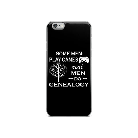 Real Men - iPhone - Acknowledge Your Ancestry