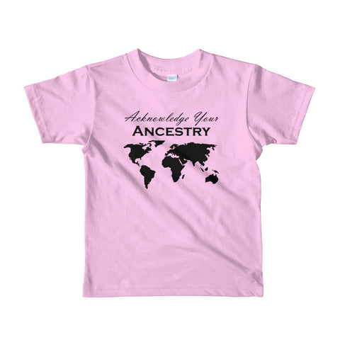 Acknowledge Your Ancestry: 2yrs - 6yrs - Acknowledge Your Ancestry