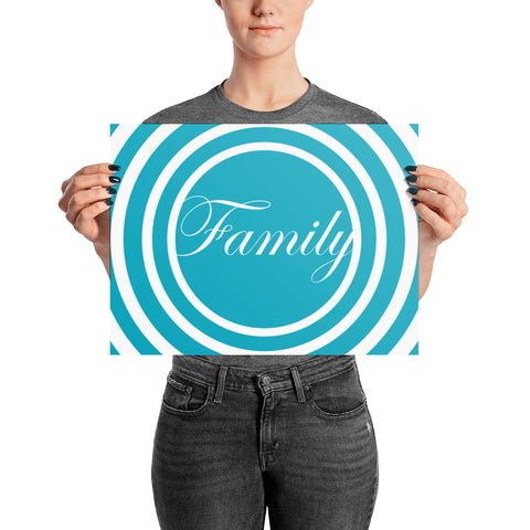 Family - Poster (Matte) - Acknowledge Your Ancestry