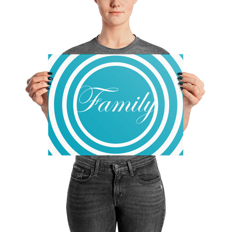 Family - Poster (Photo) - Acknowledge Your Ancestry