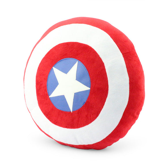 14 Inch Plush Pillow Captain America Shield Superhero Plush Pillow Classic Toys - Premium Pillow Store