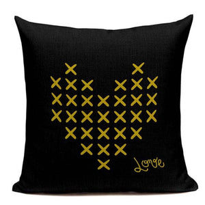 Fashionable Throw Pillow Cover Heart XXX 18 x 18 inch - Premium Pillow Store