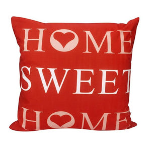 """Home Sweet Home"" Pillow cover 18x18 - Premium Pillow Store"
