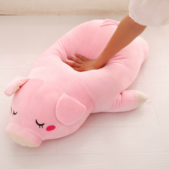 Plush Cotton Pig  Doll Stuffed Pink Pig Pillow - Premium Pillow Store