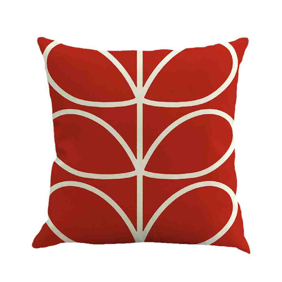 Plant Leaf Square Decorative Throw Pillow Covers 18 x 18 inch