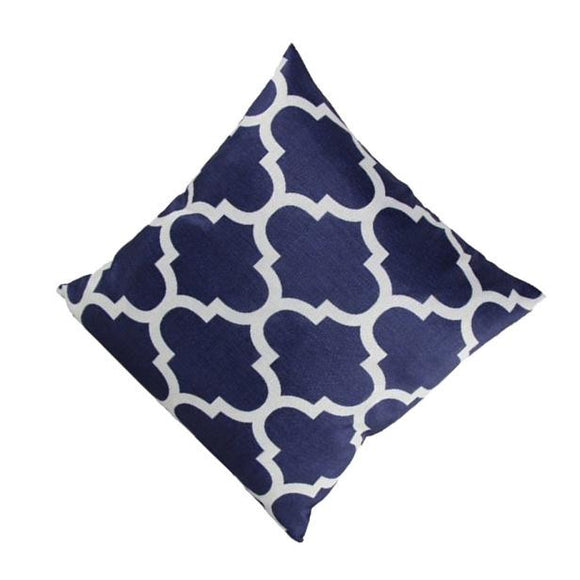 Geometric Trellis pattern Pillow Cover 16 x 16 inch