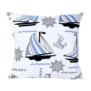 Sailing Design Home Decor Pillow Cover 18 x 18 inch - Premium Pillow Store