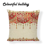 Turkish Kilim Oriental Style Pillow Cover 18 x 18 inches by Colorful Bulldog - Premium Pillow Store
