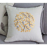 New decorative pillows cotton blossoms embroidered throw pillows, Creative home decor - Premium Pillow Store