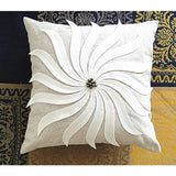 New decorative pillows with 3D design sewn in, Cotton throw pillows, Creative home decor - Premium Pillow Store