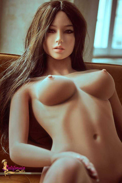 Awesome Brunette Sex Doll Posing