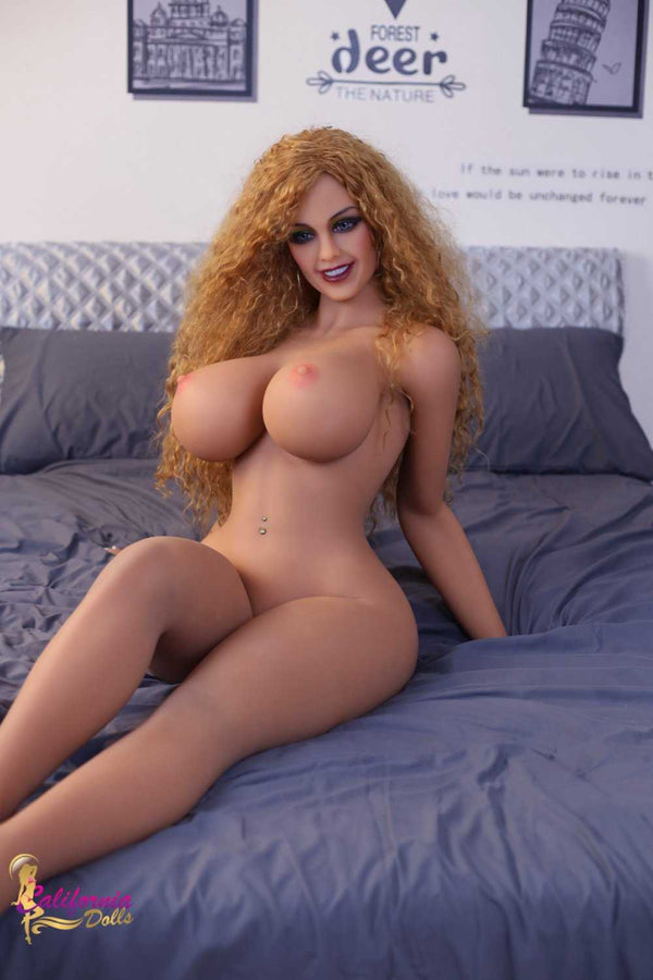 Naked sex doll with large breast.