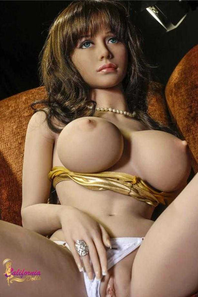 Sex doll with three pleasure holes.