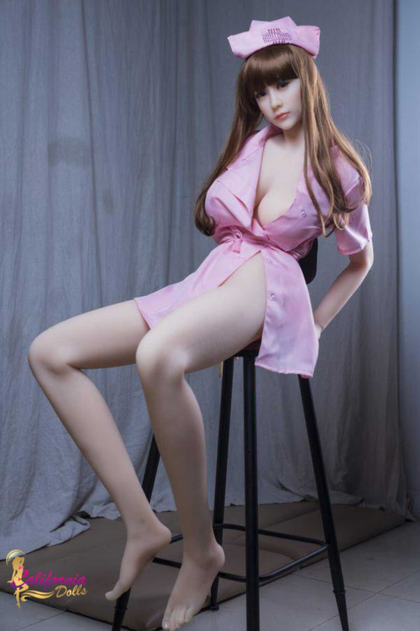 Tall fantasy sex doll with long shapely legs