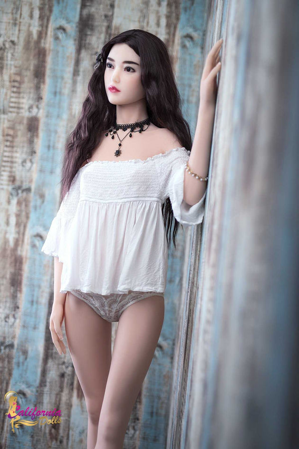 Asian sex doll with tall curvy body.
