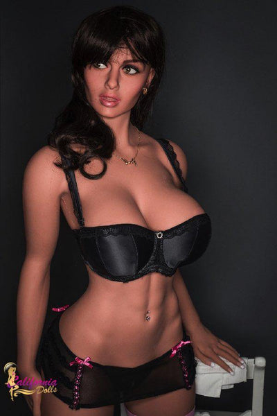 Tall elegant sex doll by California Dolls.