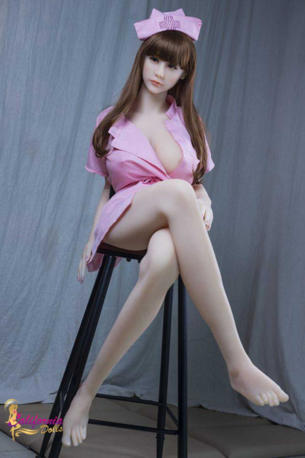 Fantasy sex doll has a beautiful curvy body.
