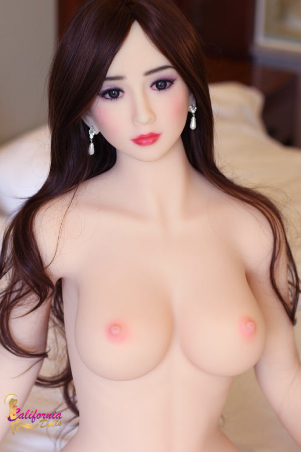 Lovely small naked breast sex doll.