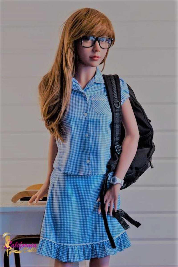 College Girl Sex Doll Megan Dressed For School