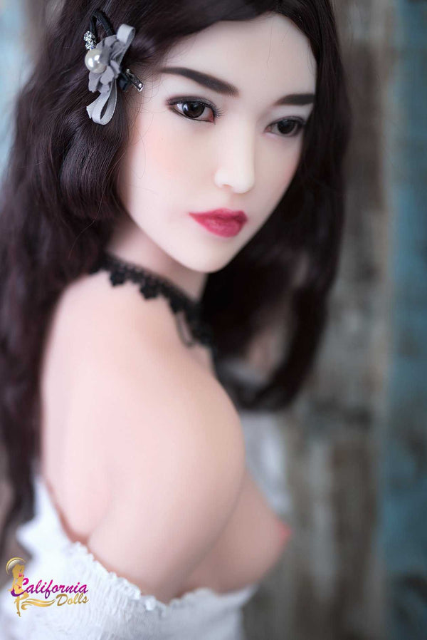 Classic facial Asian features love doll.