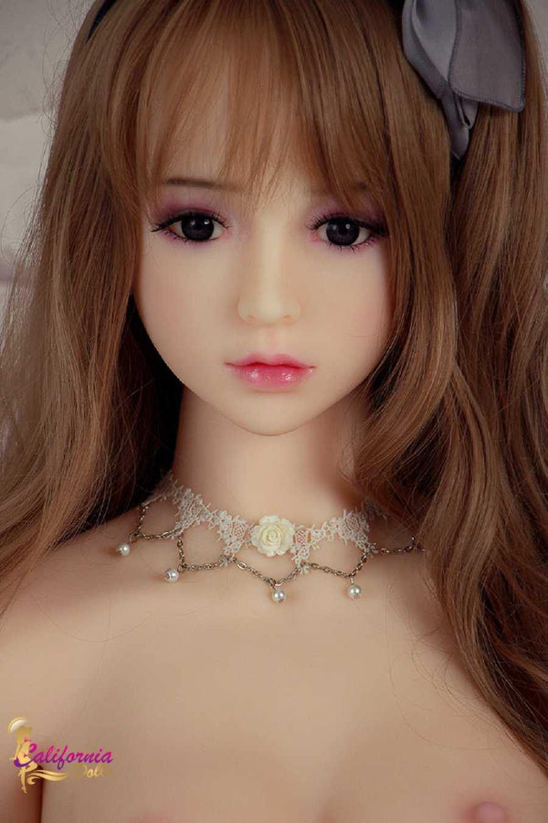 Japanese sex doll with beautiful face.