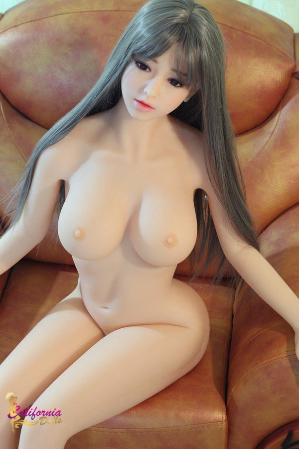 Robot sex doll with beautiful, youthful face.