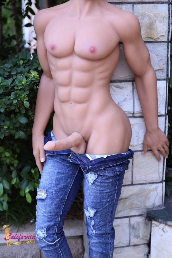 Man sex doll with athletic, fit body.