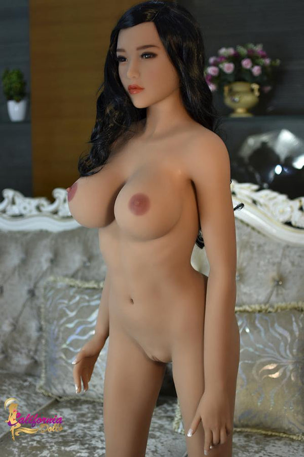Tall Japanese sex doll with small tight waist.