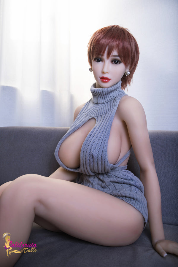 Big boob, light skinned sex doll.