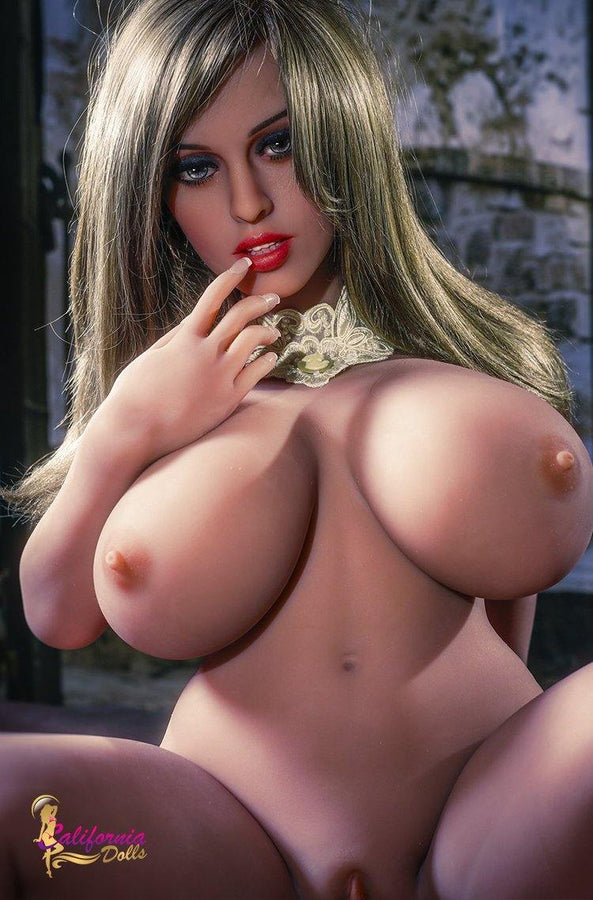 Naked sex doll with perfect face and sexy body.