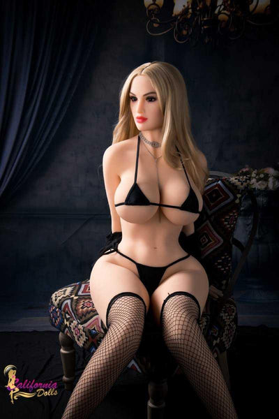 Kelly is a beautiful full-figured sex robot from California Dolls.