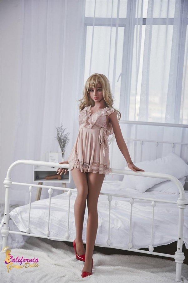 Passion doll wearing her short night gown.