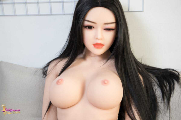 Naked sexy female robot