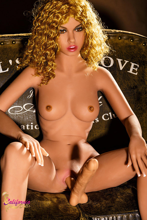 Shemale Sex Doll with beautiful face.
