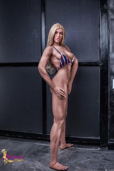 Champion body builder sex doll as sexy as her body is chiseled.