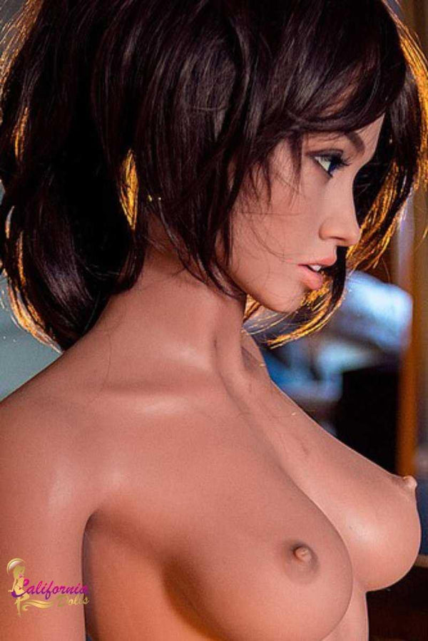 Sex doll with pretty facial features and perky youthful breast.