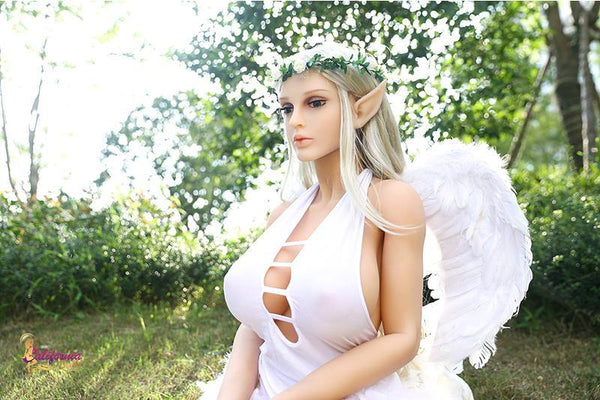 Big boobs sex doll Christina has beautiful elf ears