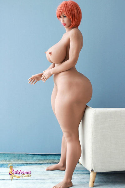 Nude doll with sexy nipples and small waist and super sexy butt.