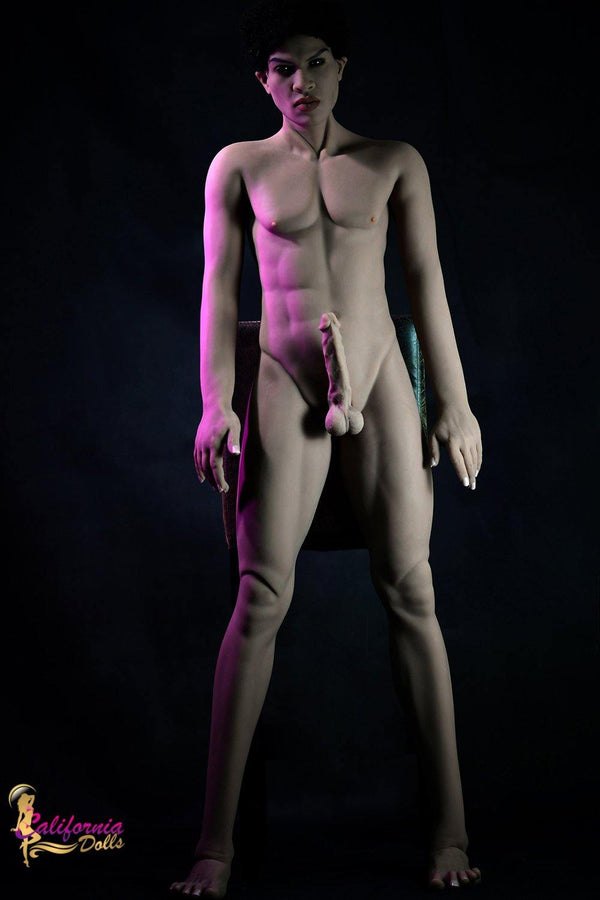 Black male standing nude.