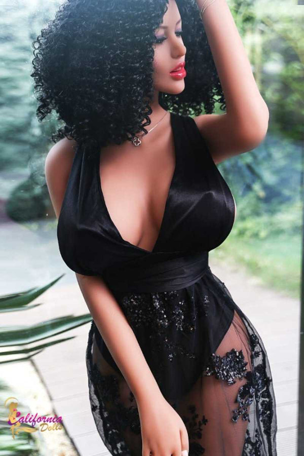 Black love and sexy black night gown.