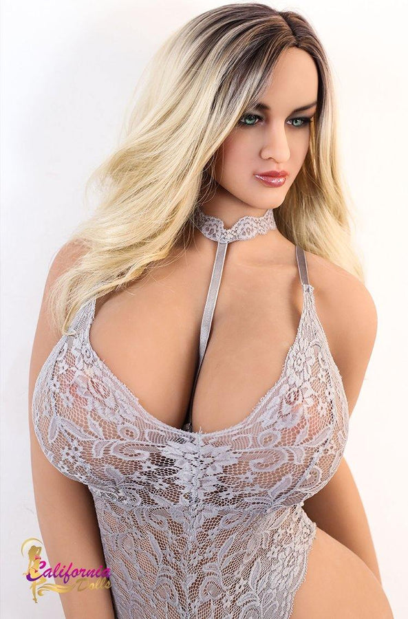 Gorgeous blonde sex doll from California Dolls