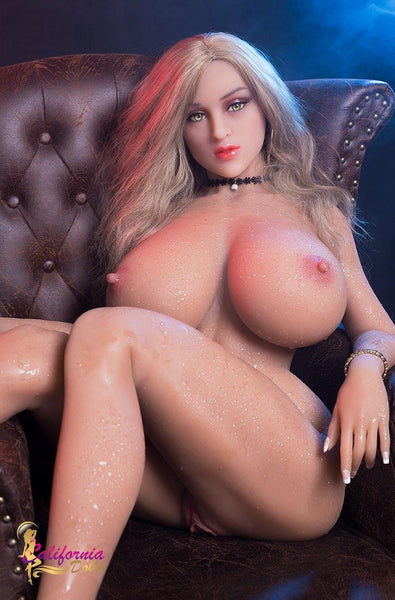 Large boobs silicone sex doll from California Doll.