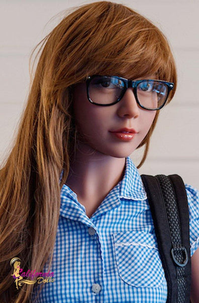 Gorgeous face student sex doll from California Dolls.