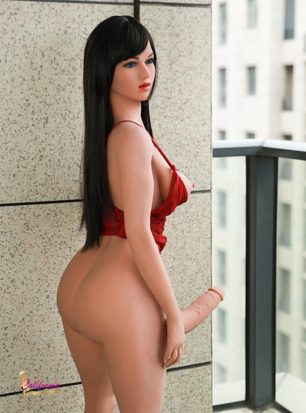 Tall Shemale sex doll has a big and round ass