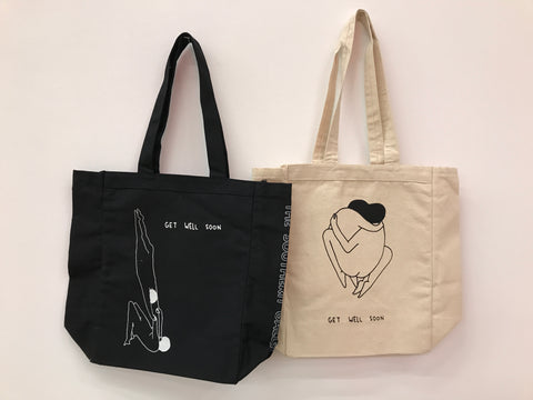 """GET WELL SOON"" TOTE"