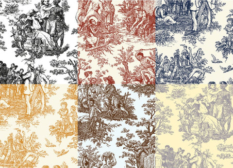 Colin Quashie | French Toile...Negro Toil (wallpaper)